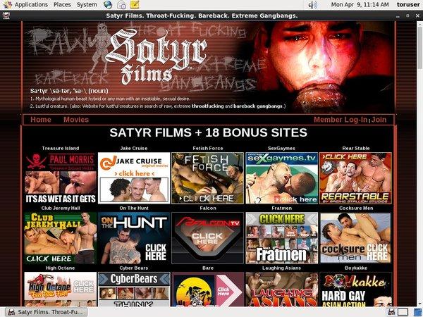 Satyr Films Members Area