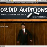Sordid Auditions Payment Methods