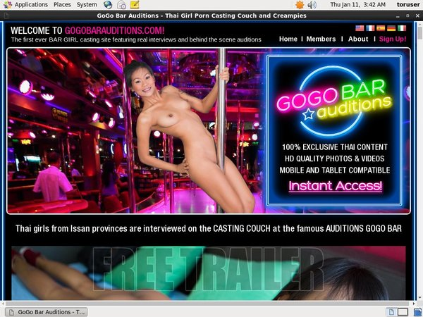 Gogobarauditions.com Free Sex