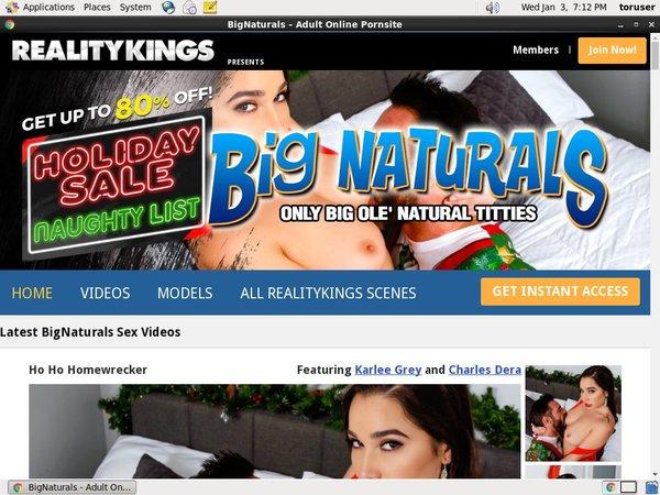 Bignaturals.com Free Trial Membership