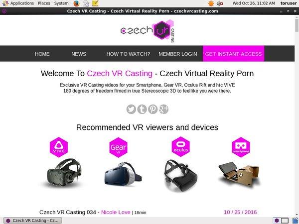Czechvrcasting.com Users