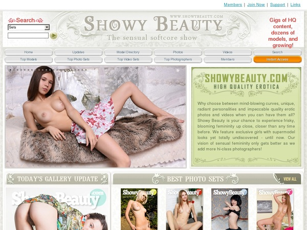 Premium Showy Beauty Accounts
