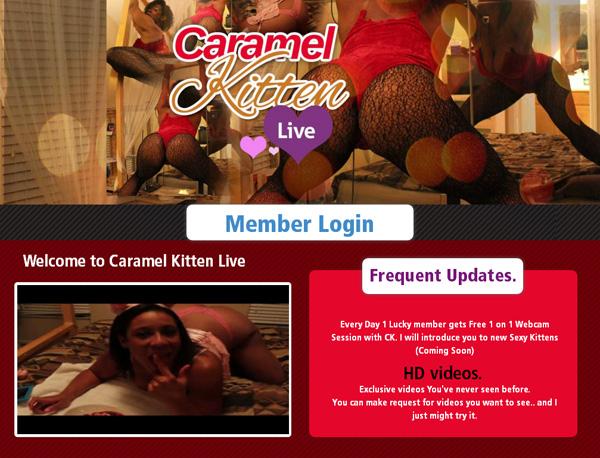 Caramelkittenlive.com Premium Discount