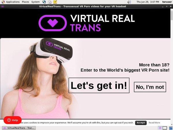 Virtual Real Trans Premium Login