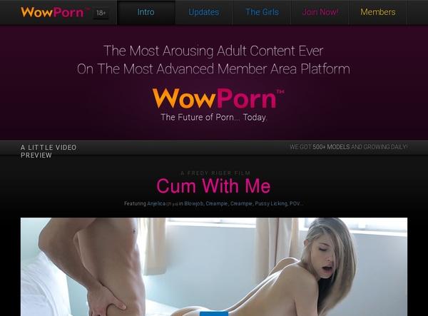 Wowporn.com Join Discount