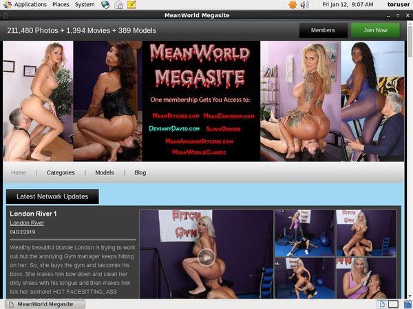 Mean World Account Blog