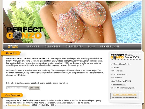 Perfectgonzo.com Discreet
