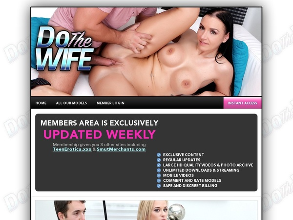 Free Dothewife.com Trial Access